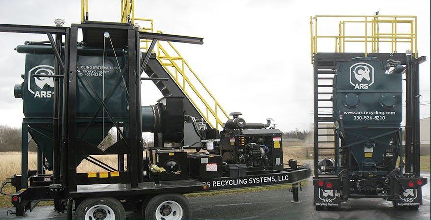 ARS Recycling Systems dust collector